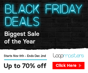 300x250 loopmasters black friday 2018