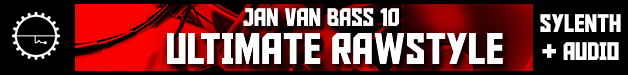 7 jan van bass 10 rawstyle hardstyle hard dance edm bass drums sylenth1 fx leads stabs percussion audio soundset screaches stabs midi 628 x 75