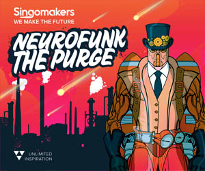 Loopmasters singomakers neurofunk the purge 300 250
