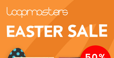 Loopamsters easter sale rotator banner 01
