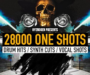 Loopmasters hy2rogen 28000oneshots techhouse vocalglitches synthshots 300x250