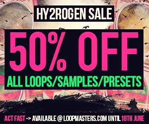 Loopmasters hy2rogen   label focus 300x250