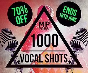 Loopmasters micro pressure   1000 vocal shots sale 300x250