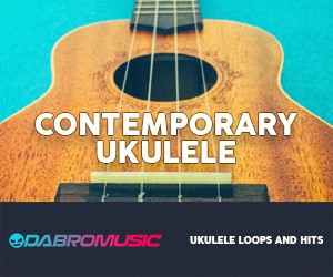 Loopmasters dabromusic contemporary ukulele vol1 samples 300 250
