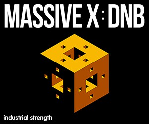 Loopmasters 5  mxdnb ni massive x soundset presets midi dnb jump up night bass hous wobbles bass leads fx syhtns audio 300 x 250