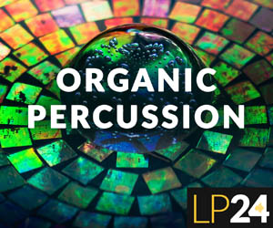 Loopmasters lp24 organic percussion cover