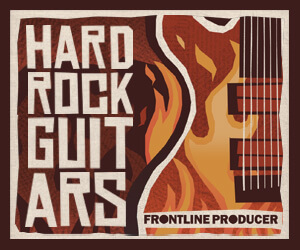 Loopmasters frontline hard rock guitars 300 x 250