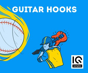 Loopmasters iq samples   guitar hooks cover 300x250