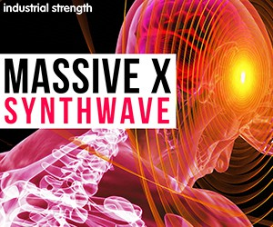 Loopmasters 5 massive x synthwave soundset presets midi audio loops massive x native instruments syntwave retro retrowave dark wave 300 x 250