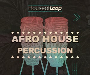 Loopmasters afro house percussion 300x250