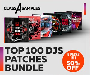 Loopmasters cas top 100 djs patches bundle 300 250