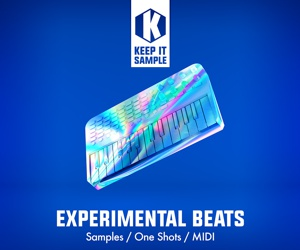 Loopmasters keep it sample   experimental beats artwork 300x250