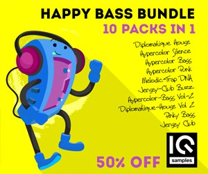 Loopmasters iq samples happy bass bundle 300 250