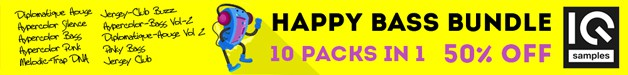 Loopmasters iq samples happy bass bundle 628 75