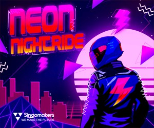 Loopmasters singomakers neon nightride 300 250