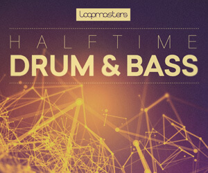 Loopmasters lm halftime drum   bass 300 x 250