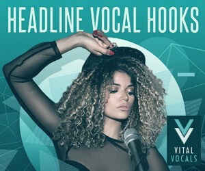 Loopmasters vital vocals headline vocal hooks 300 x 250