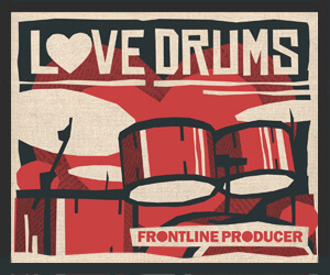 Loopmasters frontline love drums 300 x 250