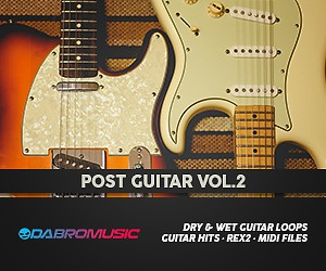 Loopmasters 54 post guitar vol2 dabromusic 300 x 250