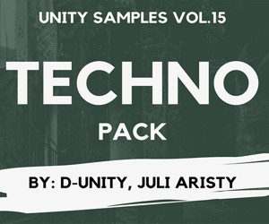 Loopmaster unitysamples vol15 techno loops loopcloud ready 300x250