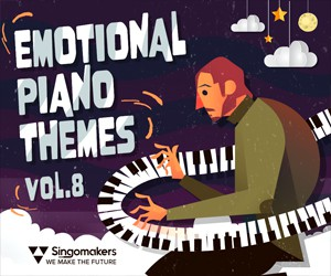Loopmasters singomakers emotional piano themes vol 8 300 250