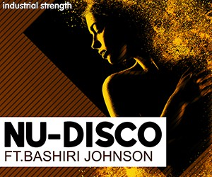 Loopmasters 5 nu disco bashiri johnson percussion loop kits bass shkaers  strinfs pads guitars conga bongo disco  drums disco grooves 300 x 250