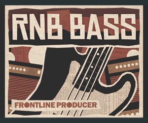 Loopmasters frontline rnb bass 300 x 250
