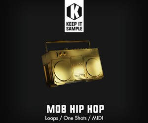 Loopmasters keep it sample   mob hip hop artwork 300x250