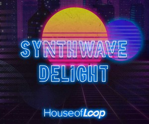 Loopmasters hl synthwave delight samples royalty free 300x250 web