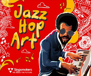 Loopmasters singomakers jazz hop art 300 250