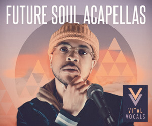 Loopmasters vital vocals future soul acapellas 300 x 250