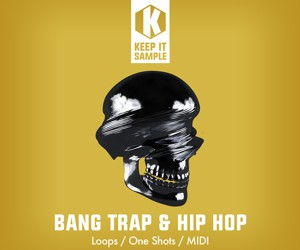 Loopmasters keep it sample   bang trap   hip hop artwork 300x250
