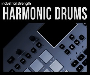 Loopmasters 5 harmonic drums kick drums hi hats snare percussion loops top loops one shots 300 x 250