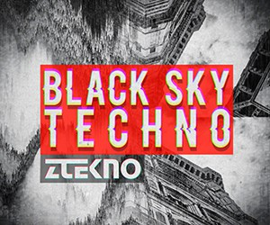 Loopmasters ztekno  black sky techno underground techno royalty free sounds ztekno samples royalty free 300x250