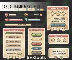 Loopmasters st cgmu game menu ui 300x250