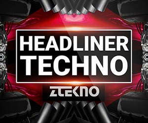 Loopmasters ztekno headliner techno underground techno royalty free sounds ztekno samples royalty free 300x250