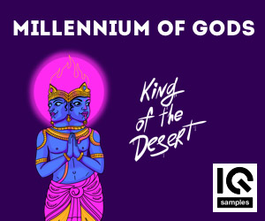 Loopmasters iq samples   millennium of gods   king of the desert   cover   300x250