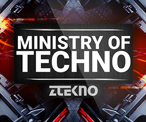 Loopmasters ztekno ministry of techno underground techno royalty free sounds ztekno samples royalty free 300x250