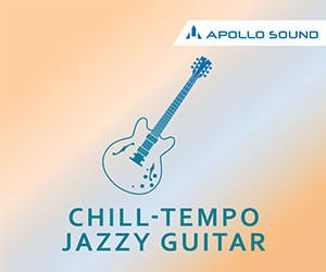 Loopmasters chilltempo jazzy guitar 300x250