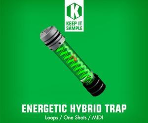Loopmasters keep it sample   energetic hybrid trap 300x250