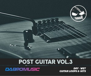 Loopmasters dabromusic post guitar vol3 300x250