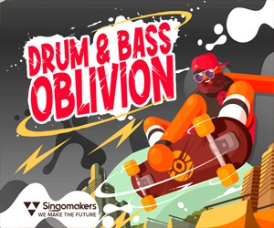Loopmasters singomakers drum bass oblivion 300 250