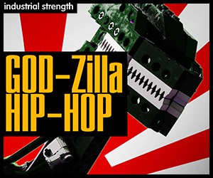 Loopmasters 5 godzilla horn stabs horn loops guitar loops fx drum loops hip hop bass orchastra noises 300 x 250