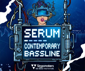 Loopmasters singomakers serum contemporary bassline 300 250