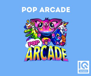 Loopmasters iq samples   pop arcade 300x250 cover