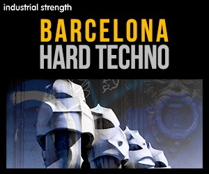 Loopmasters 5 barcolana hard techno loop kits loops drums fx 300 x 250