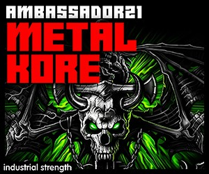 Loopmasters 5 ambasador21 metal kore  hardcore  digital hardcore  industrial hardcore  industrial  drum hits  guitars  drum loops 300 x 250