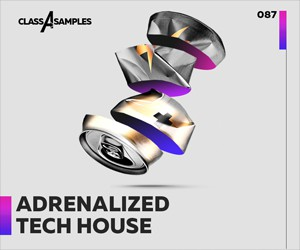 Loopmasters class a samples adrenalized tech house 300 250