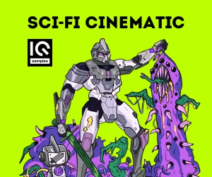 Loopmasters iq samples   sci fi cinematic   300x250   cover