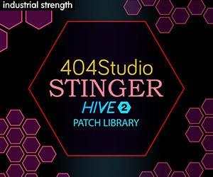 Loopmasters 5 404 studio hive 2 sound set audio wav drums pads  leads stabs kicks acid 300 x 250